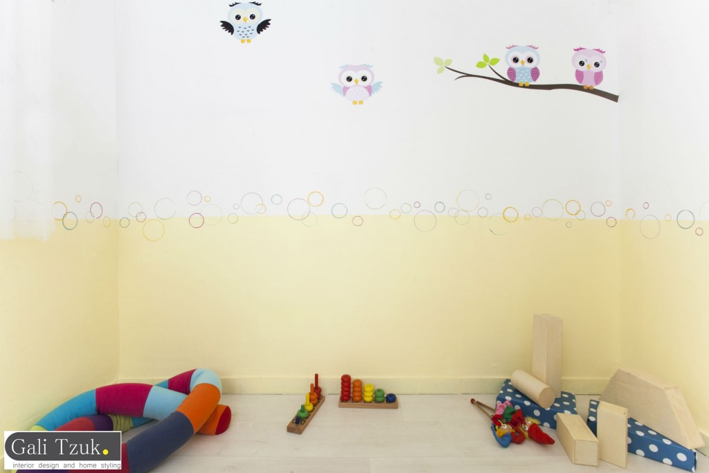 גלי צוק עיצוב פנים והום סטיילינג  - חדר משחקים4